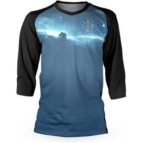 Loose Riders Nebula Cool Maglietta Jersey 3/4 Uomo, blue/black
